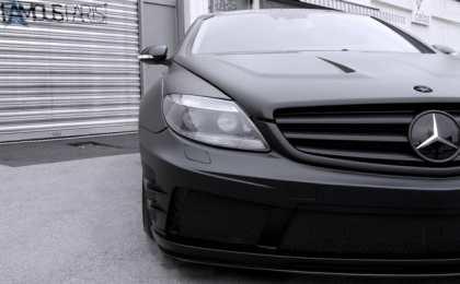 Mercedes CL500 Black Matte от Famous Parts