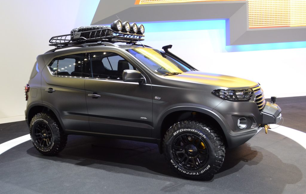 Chevrolet Niva Российской сборки