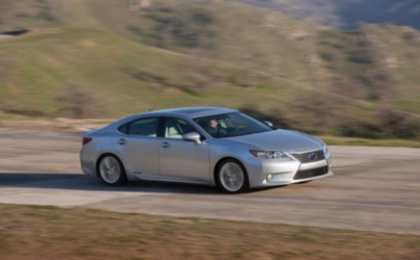 Новый Lexus ES 2013