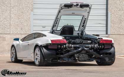 1100-сильный Lamborghini Gallardo Twin Turbo от Dallas Performance