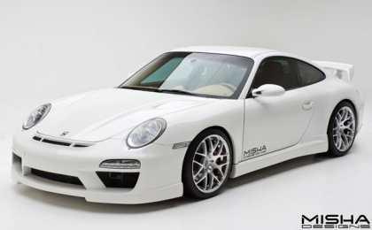 Porsche 911 (997) GTM2 в тюнинге Misha Designs