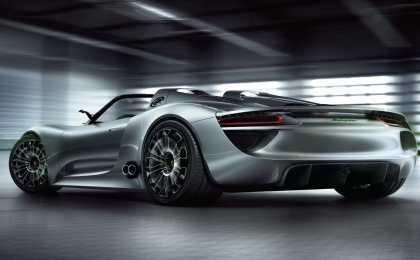 Porsche представит в Детройте прототип нового спорткара
