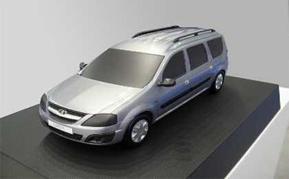 На Московском автосалоне покажут прототип новой 'Лады'