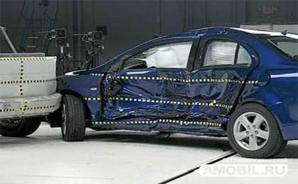 Mitsubishi Lancer получил высшую оценку в краш-тестах