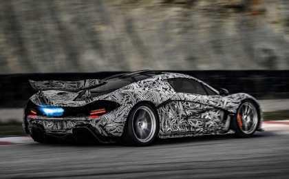 McLaren показал фото замаскированной модели P1