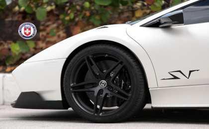 Lamborghini Murcielago LP670-4 SV на дисках HRE Wheels