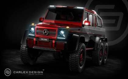 Mercedes-Benz G63 AMG 6х6 от Carlex Design