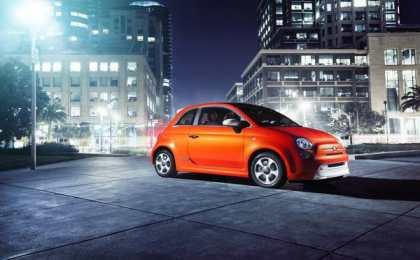 Fiat опубликовал первые фото электрокара 500е
