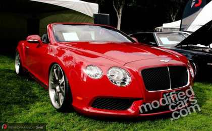Bentley Continental GTC V8 от Performance One