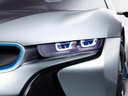Лазерные фары от BMW