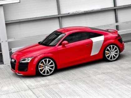 Новая Audi TT GT станет еще динамичнее