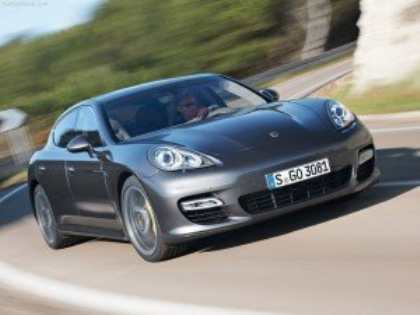 Porsche Panamera – любимый люксовый автомобиль европейцев