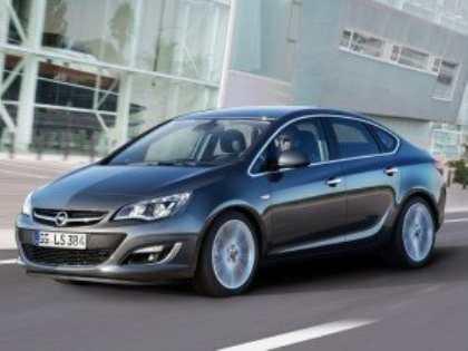 Новый седан Opel Astra российской сборки поступит в продажу уже в октябре