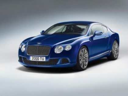 Bentley представила свою самую динамичную модель Continental GT Speed