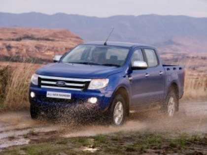 На автовыставке в Ирландии пикап Ford Ranger признан «Международным пикапом-2013»