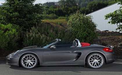 Schmidt Revolution доработал Porsche Boxster