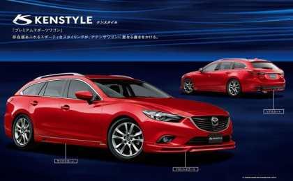 Mazda 6 получила пакеты от M'z, DAMD и Kenstyle