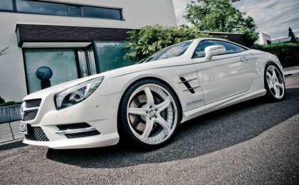Mercedes-Benz SL 500 в тюнинге Graf Weckerle