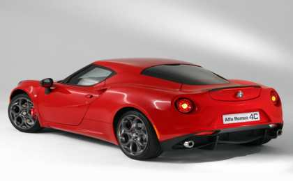 Alfa Romeo обнародовала спорткар 4C Launch Edition