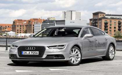 Audi представила начальную дизельную версию A7 3.0 TDI ultra