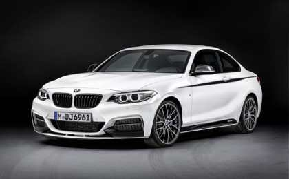 BMW 2-Series Coupe получил пакет M Performance
