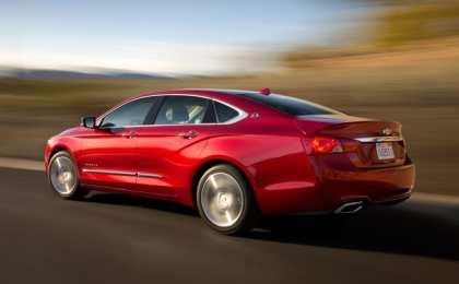 Chevrolet Impala получил новый двигатель 2.5 Ecotec