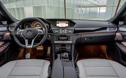 Mercedes-Benz E63 AMG 2014 - официальный релиз