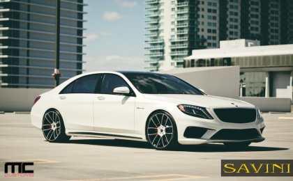 Mercedes-Benz S63 AMG от Savini Wheels