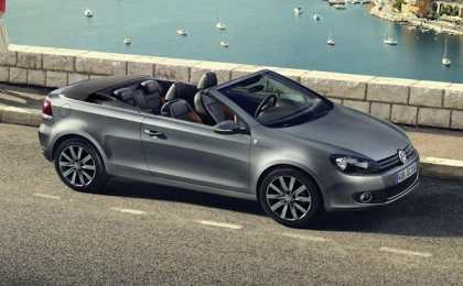 Golf Cabriolet Karmann Edition - новинка от VW