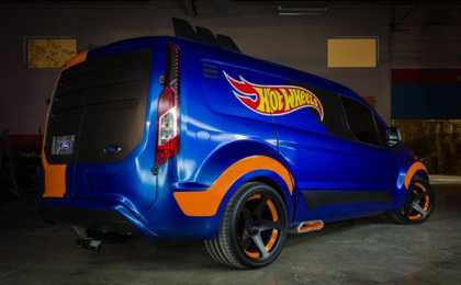 SEMA 2013: Hot Wheels Ford Transit Connect