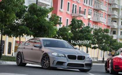 BMW M5 (F10) в тюнинге ByDesign Motorsports