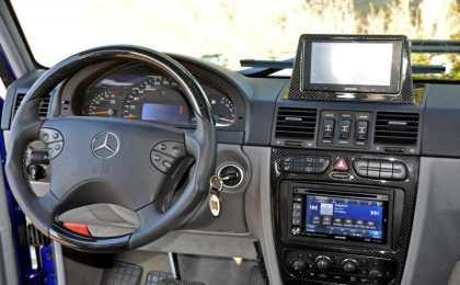 Mercedes-Benz G400 CDI в полномасштабной доводке GSC