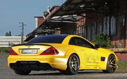 Fostla доработала Mercedes-Benz SL55 AMG
