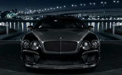 Bentley Continental GT в тюнинге Slek Designs