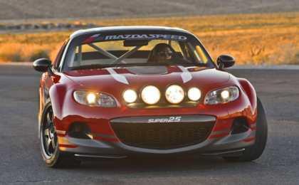 Mazda анонсировала болид MX-5 Super25