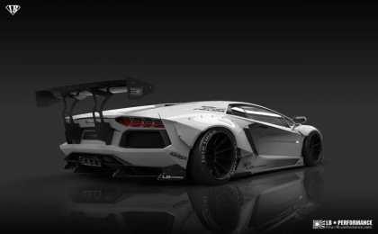 Lamborghini Aventador LP700-4 от Liberty Walk