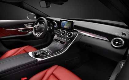 Mercedes показал салон нового поколения C-Class