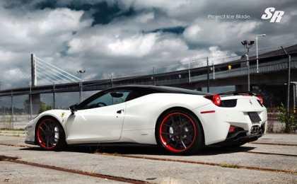 Ferrari 458 Italia «Ice Blade» от SR Auto Group