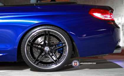 BMW M6 Convertible от HRE Wheels