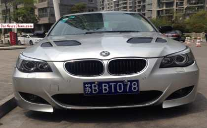 BMW 5-Series Li (E60) Alpina из Китая