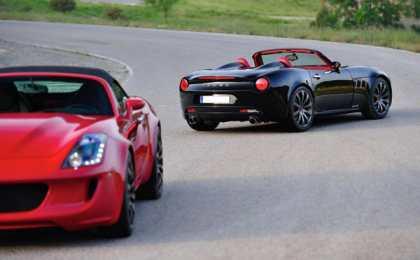 Tauro V8 Spider - новый спорткар от испанцев