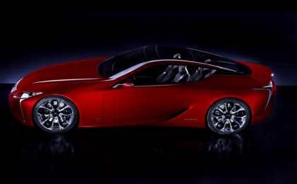 Lexus планирует новый суперкар дороже LFA