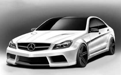 Misha Design создает обвес для Mercedes C-Class