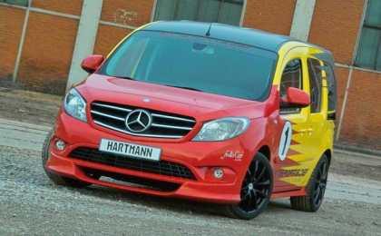 Hartman Tuning добавил спортивности фургону Mercedes-Benz Citan