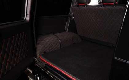 TopCar обновил внутреннюю отделку Mercedes-Benz G65 AMG