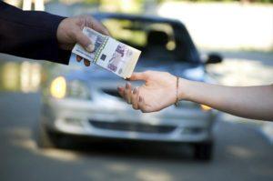 Продажа автомобиля через посредника