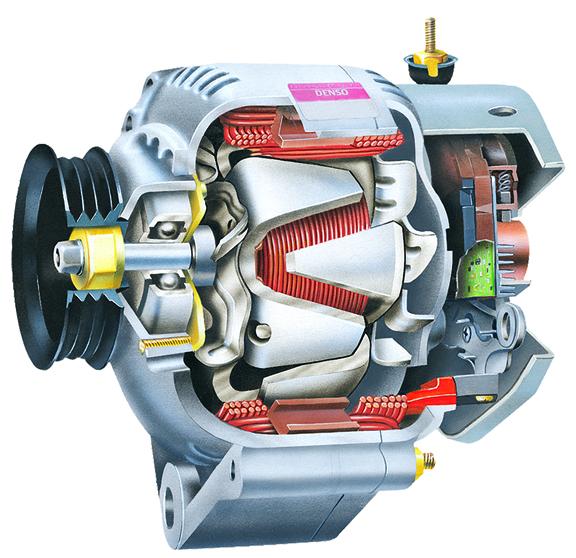 Ремонт генератора в автомобиле