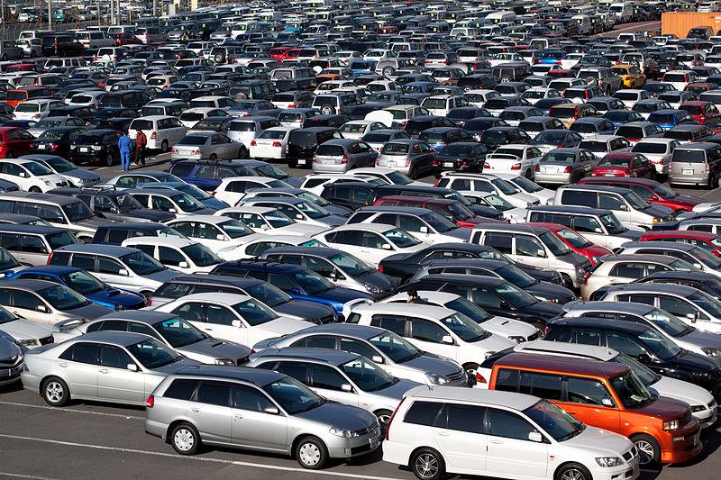 Авторынок подержанных автомобилей